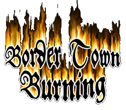 Border Town Burning Logo
