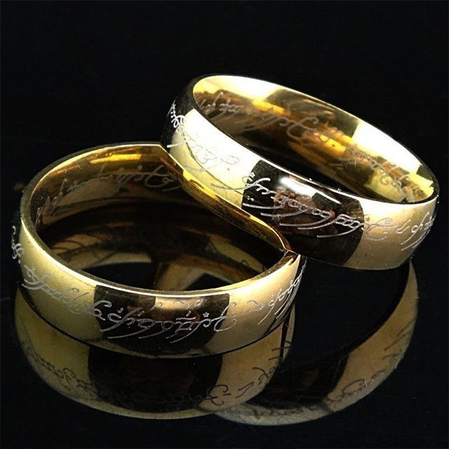 one ring wedding
